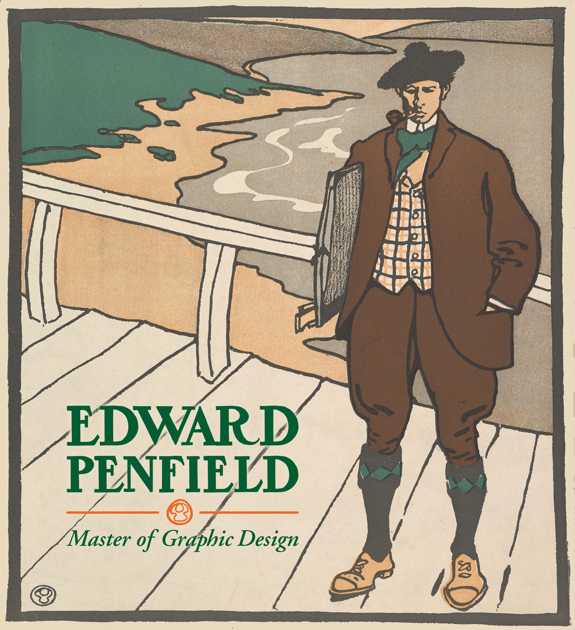 Edward Penfield (1866-1925), poster artist, illustrator and master of graphic design